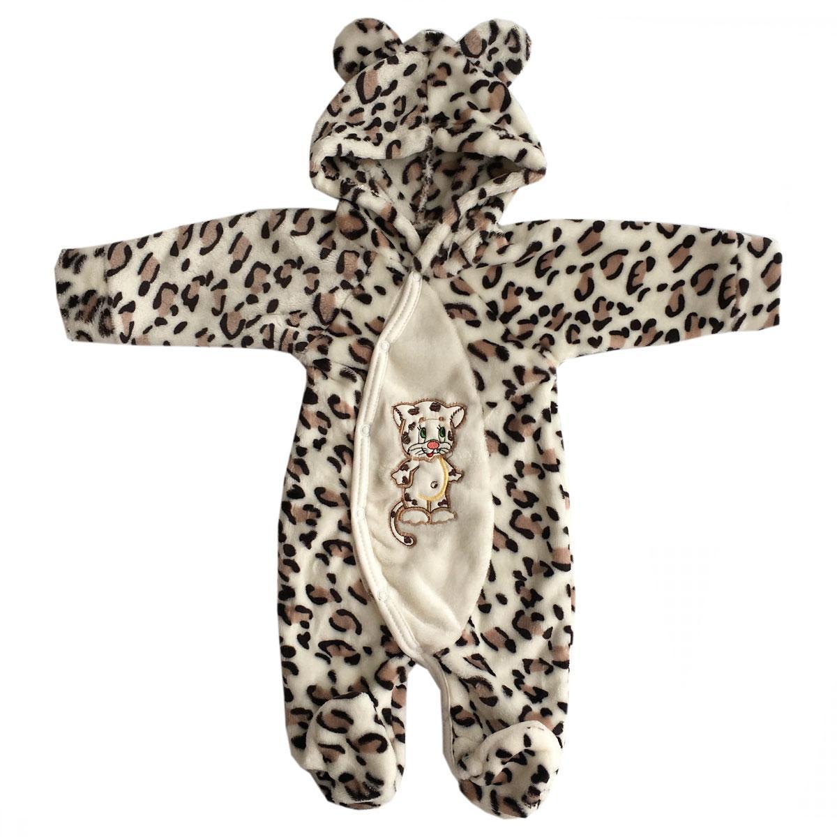 Комбинезон леопардовый для детей