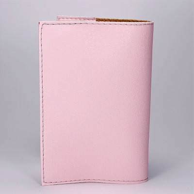 """Обложка на паспорт, розовая, """"Кот в очках"""", экокожа, фото 2"""