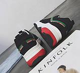 Женские черные кроссовки на водонепроницаемой подошве, фото 2
