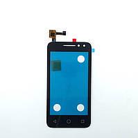 Сенсорный экран (тачскрин) Alcatel 4034D One Touch Pixi 4  black