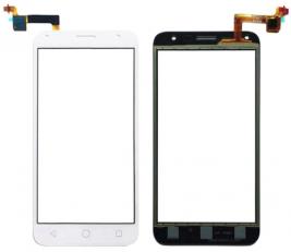 Сенсорный экран (тачскрин) Alcatel 5010D One Touch Pixi 4 5.0 белый