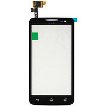 Сенсорный экран (тачскрин) Alcatel 5030 One Touch X'Pop чёрный
