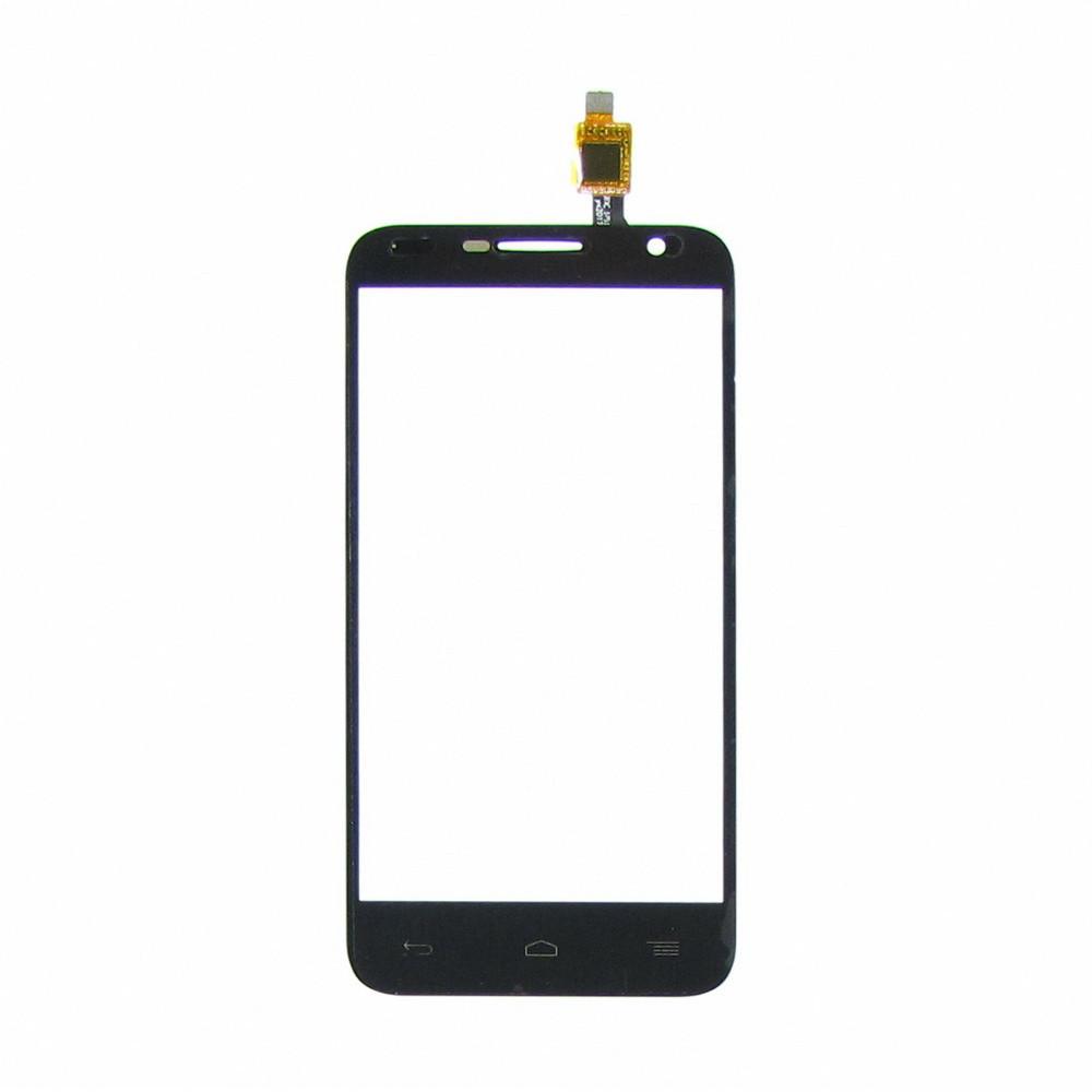 Сенсорный экран (тачскрин) Alcatel 6016X Idol 2 Mini чёрный