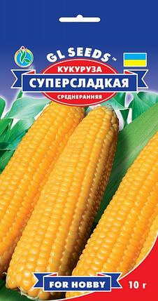 Кукуруза суперсладкая, пакет 10 г - Семена кукурузы, фото 2