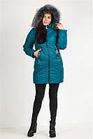 Куртка женская зимняя Бирюза 44-52 размер + подарок