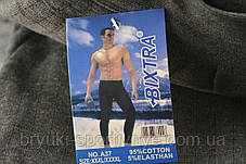 Подштанники мужские с начесом в полоску XL\2XL Темно серый, фото 3