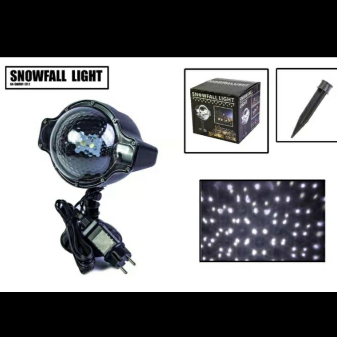 Лазерний проектор Star Shower Laser Light,сніг