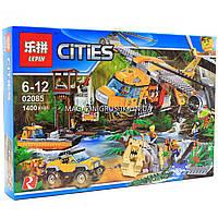 Конструктор «Cities» - Вертолёт для доставки грузов в джунгли 02085