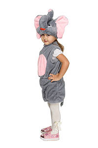 """Детский карнавальный меховой костюм """"Слоник"""" для малышей"""