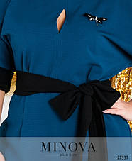 Платье женское нарядное фиолетового цвета размеры: 48-62, фото 3