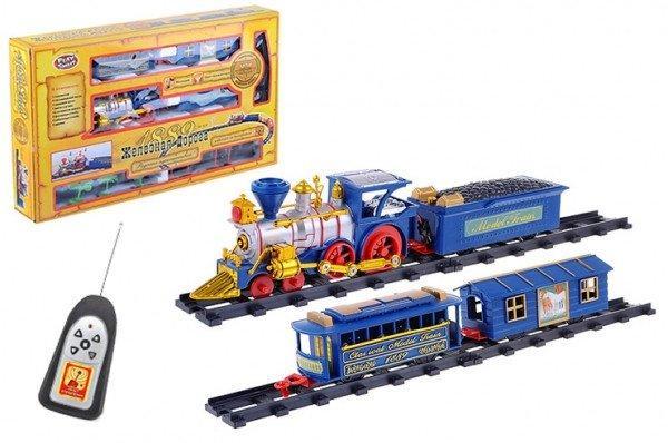 """Радиоуправляемая железная дорога. Звуки настоящего поезда """"1889"""". Премиум класс."""