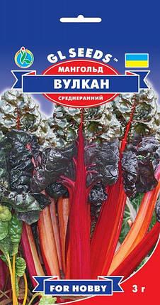 Мангольд Вулкан красный, пакет 3 г - Семена зелени и пряностей, фото 2