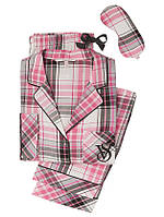 5d76f013dd6d Фланелевая пижама Victoria's Secret The Dreamer Flannel Pajama + маска для  сна