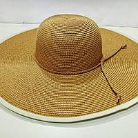 Шляпа женская женская летняя с большим полем