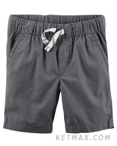 Поплиновые шорты Carter's для мальчика, фото 2