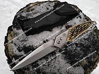 Нож выкидной 102 рог, надежный туристический нож, прочный, надежный