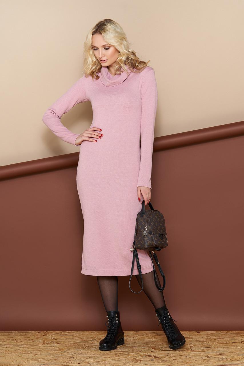 Уютное шерстяное платье (4 цвета)