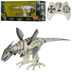 """Дракон TT 320 на р/у інтерактивний """"динозавр"""" ходить, звук, світло, очі, 79 см (Robosaur) на батарейці"""