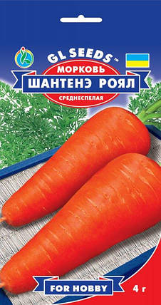 Морковь Шантене Роял, пакет 4 г - Семена моркови, фото 2