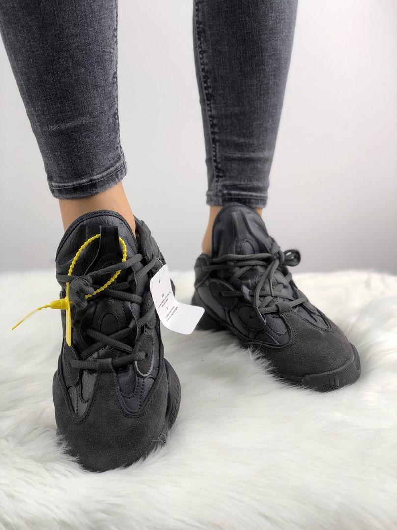 100% authentic c8d8f c7af2 Adidas Yeezy 500 Utility Black (На меху): продажа, цена в Киеве. кроссовки,  кеды повседневные от