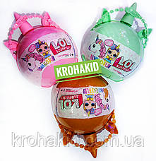 ЛОЛ шар большой Единорог / LOL Unicorn ВВ3  / аналог - РОЗОВЫЙ, фото 2