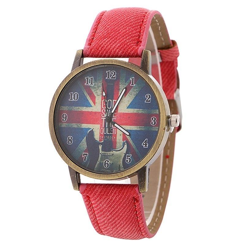 Часы наручные God Save The Queen Red