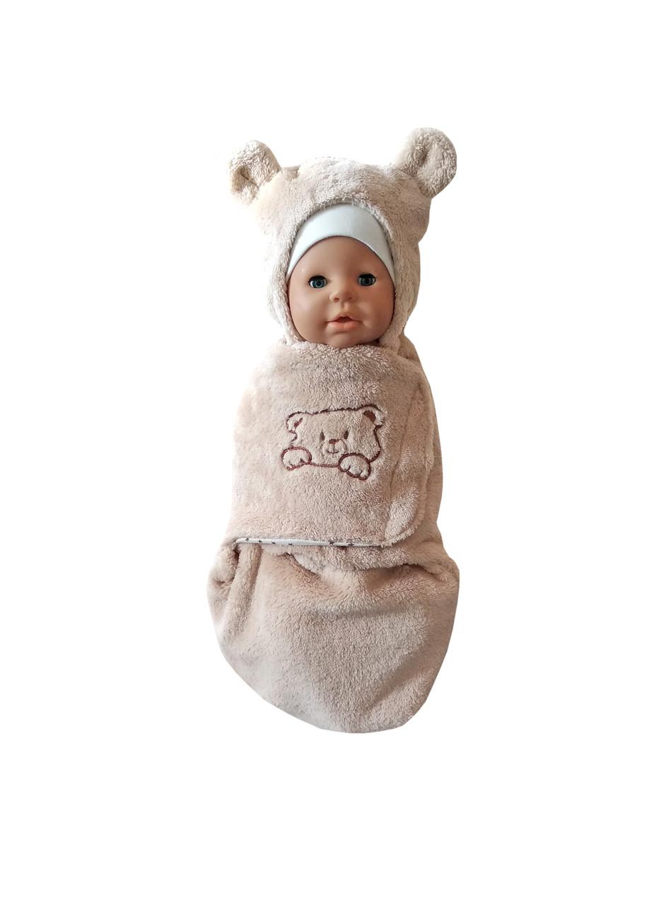 Евро-пеленка / кокон для новорожденных (велсофт)
