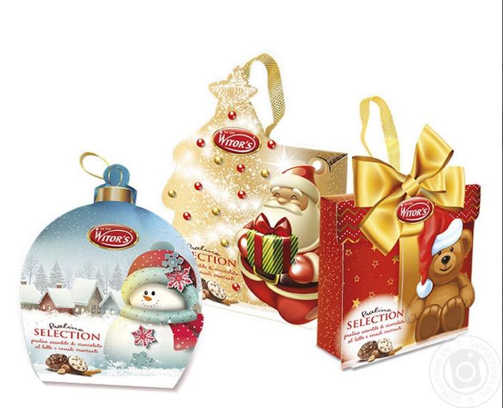Шоколадные конфеты Witors Praline Selection в подарочной коробке, 85 г.