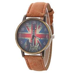 Часы наручные God Save The Queen Brown