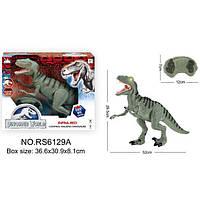 Игрушечный Динозавр на радиоуправлении RS6129A, дракон, свет, звук, ходит