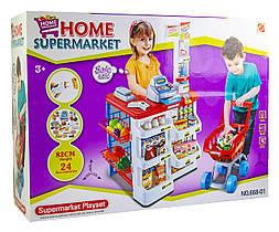 Набор Супермаркет с тележкой (668-01) Гарантия качества Быстрая доставка
