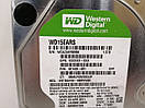 HDD Жорсткий диск Western Digital Caviar Green 1.5TB 5400rpm 64МB 3.5 SATA II  для ПК ІДЕАЛЬНИЙ СТАН, фото 2