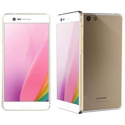 "Смартфон Sharp Z3 (FS8009) gold 4/64Gb, 5,7"" 2K display в наличии, фото 2"