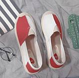 Удобные женские туфли на тракторной подошве, фото 2