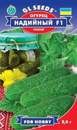 Огурец Надийный F1, пакет 0,4 г - Семена огурцов, фото 2