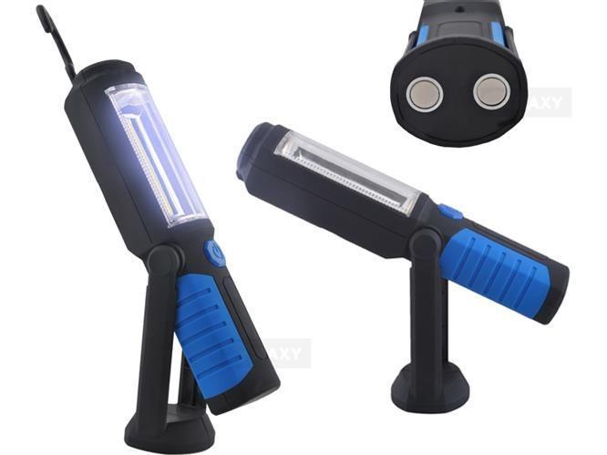 Лампа з магнітом, ліхтарик світлодіодний для майстерні, дому, поїздок