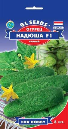 Огурец Надюша F1, 8 семян - Семена огурцов, фото 2