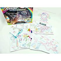 Магическая 3D доска для рисования | Набор для детского творчества Magic drawing board 3d, фото 3