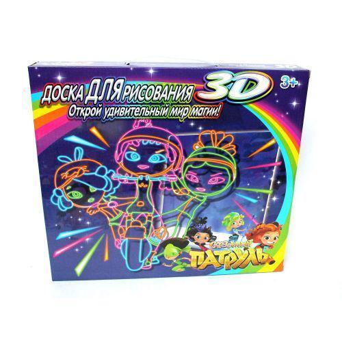 Магическая 3D доска для рисования | Набор для детского творчества Magic drawing board 3d