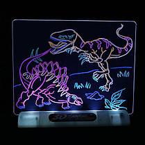 Магическая 3D доска для рисования | Набор для детского творчества Magic drawing board 3d, фото 2