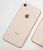 Задняя крышка для iPhone 8, золотистая, копия