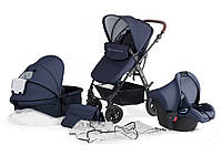 Универсальная детская коляска с автокреслом Kinderkraft Moov 3 в 1