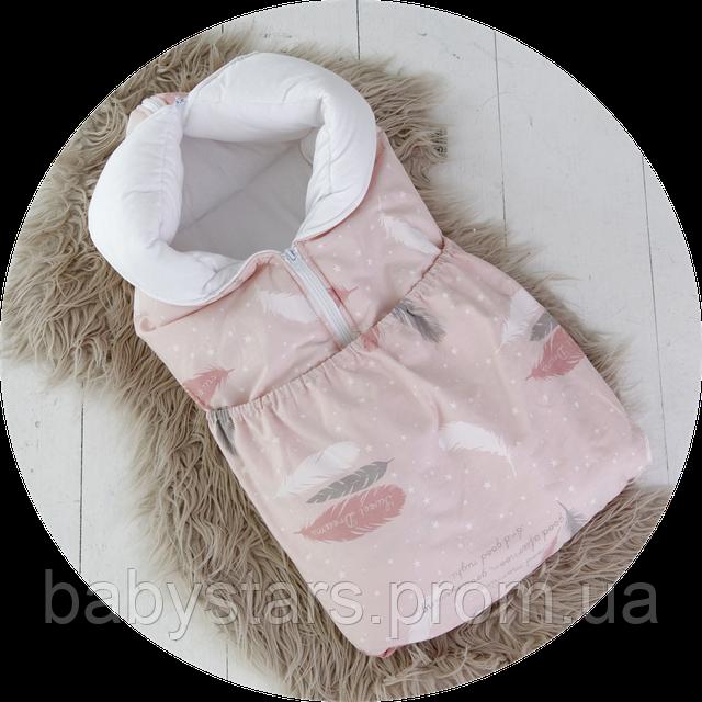 Демисезонный конверт-трансформер для новорожденного