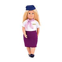 Кукла LORI 15 см Стюардесса Аури LO31112Z