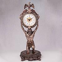 Часы настольные/каминные Veronese Атлант высота 38см (75467)