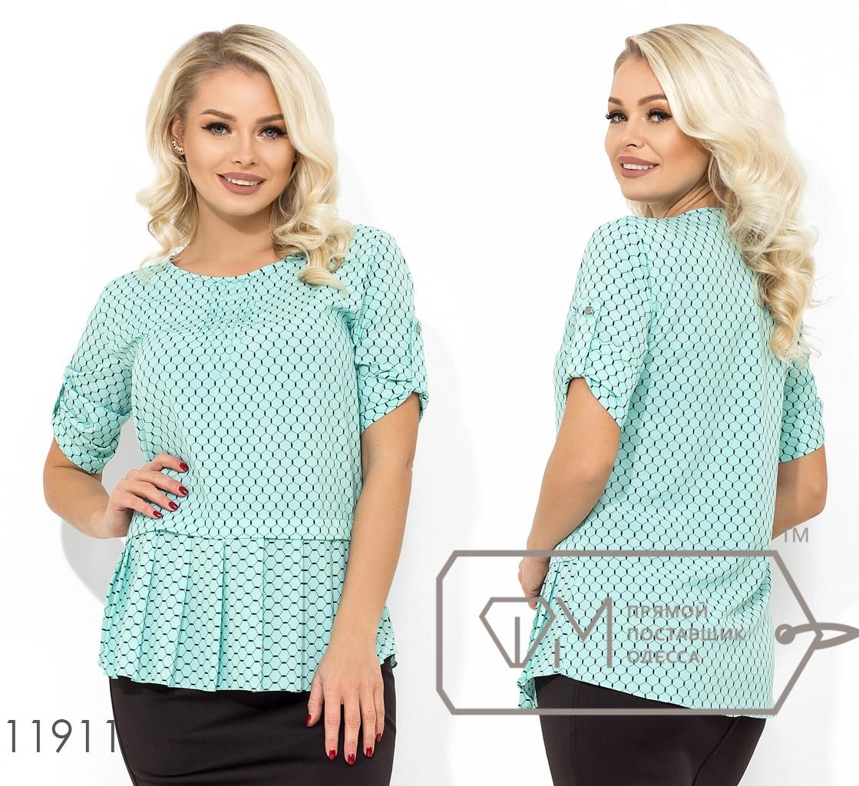Блуза женская, норма р.S, M, L   Фабрика Моды