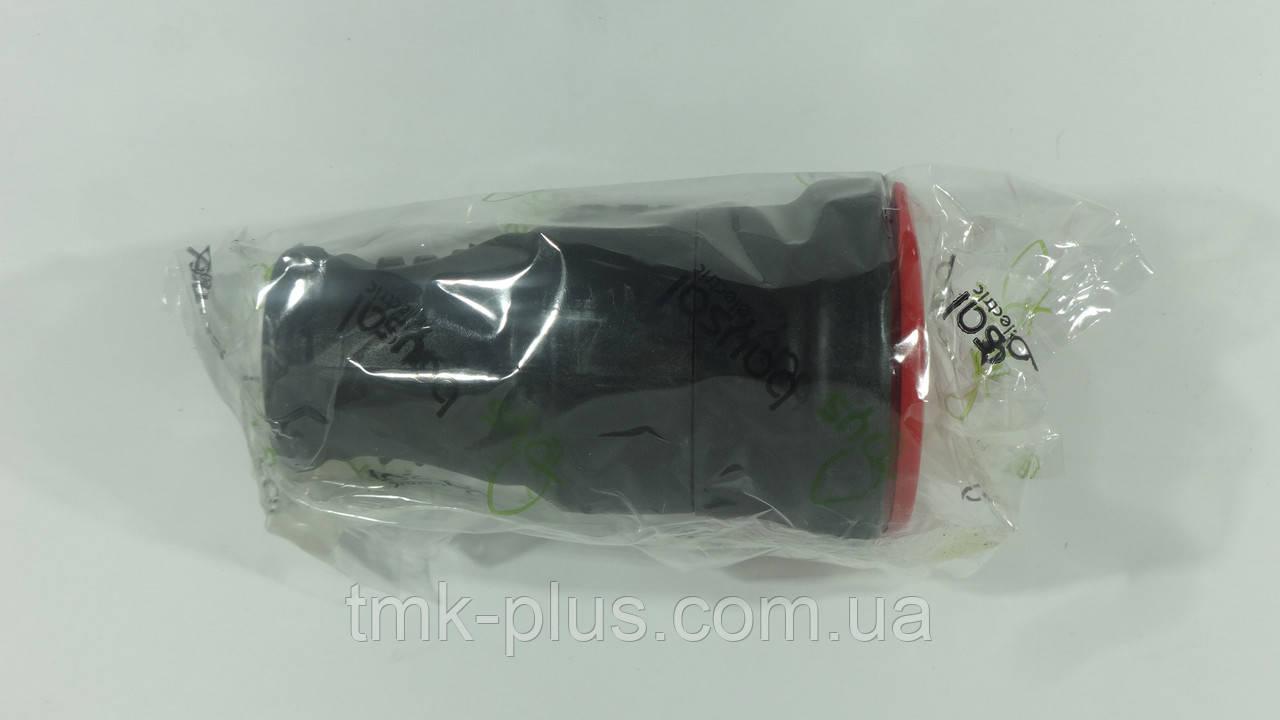 Розетка переносна 3-х фазна 3*25А (каучук) ALFA