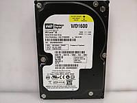 HDD Жорсткий диск Western Digital 160GB 7200rpm 8MB SATA-II для ПК ІДЕАЛЬНИЙ СТАН