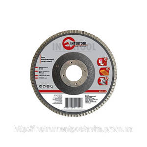 Диск шлифовальный лепестковый 115 * 22мм зерно K36