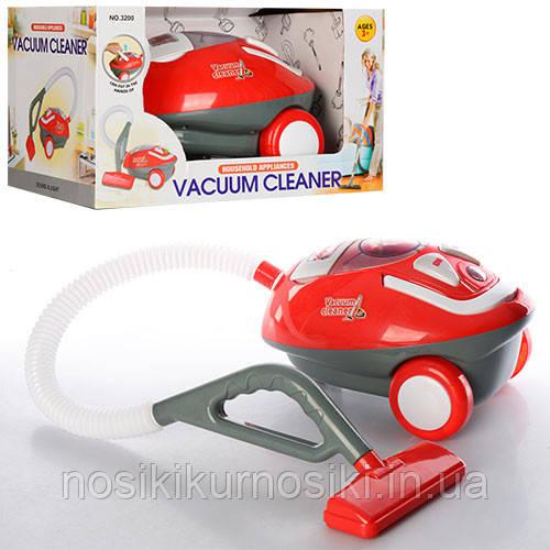 Детский игрушечный пылесос 3200